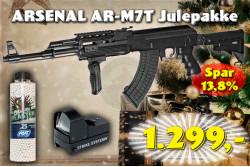 ASG ARSENAL AR-M7T, SLV Julepakke..