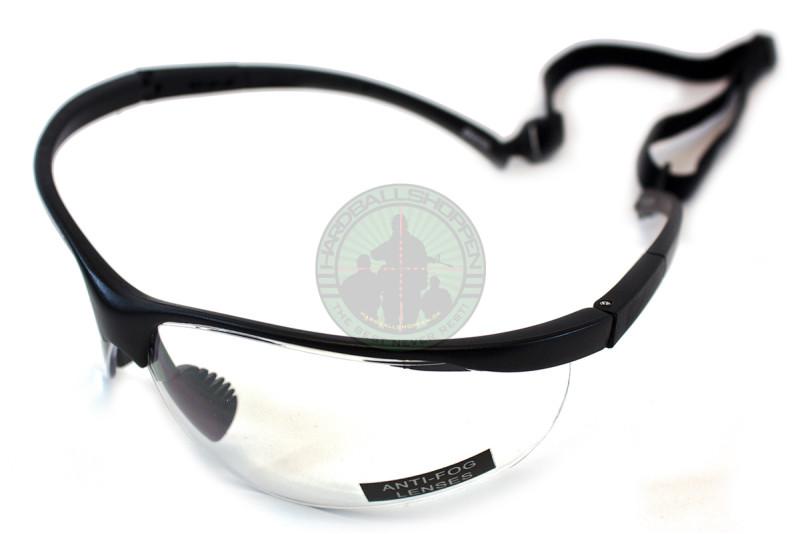 Brille, Sort ramme med klart glas