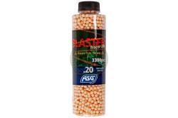 ASG - Blaster Tracer Red, 0,20g, 3300 kugler rød..