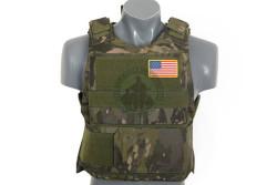 8 fields - Delta soft body armor, Multicamo Tropic..