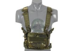 8 Fields - Compact multi mission chest rig, Multicamo Tropic..