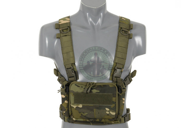 8 Fields - Compact multi mission chest rig, Multicamo Tropic