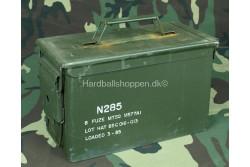 HBSIMP  - Ammunitionskasse til 50 stk cal .50, brugt..