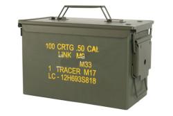 HBSIMP  - Ammunitionskasse, .50 cal. ny m. tekst..