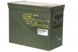 HBSIMP  - Ammunitionskasse, Brugt, 45x23x37 cm,  110 stk 30m..