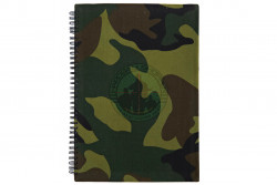 HBSIMP  - Notebook/Notesbog, Woodland, A4..