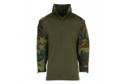 Combat Shirt Woodland Small..