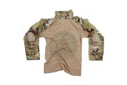Combat Shirt, Warrior, Multicamo..