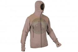 MLV - Tactical Tight Fleece med hætte, Khaki..