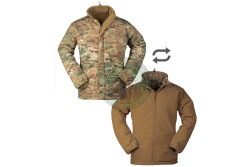 MilTec - Cold Weather Jacket, vendbar, Multitarn/Dark Coyote..