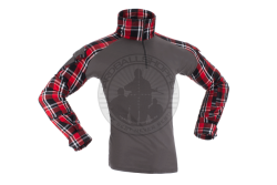 Invader Gear - Combat Shirt, Flannel, Rød..