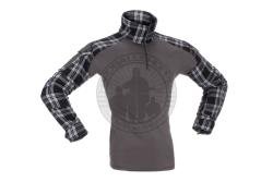 Invader Gear - Combat Shirt, Flannel, Sort..