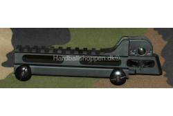M15 top rail m. bagsigte..