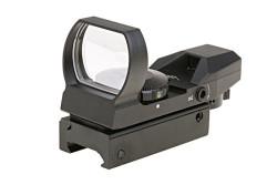 Dot sight, 3 x rød - Grøn, 22 x 33mm..