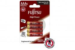 Fujitsu - Batteri 4 stk. 1,5volt AAA Fujitsu, High Power, Bl..