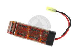 8,4v 1600mAh minibatteri, NiMh..