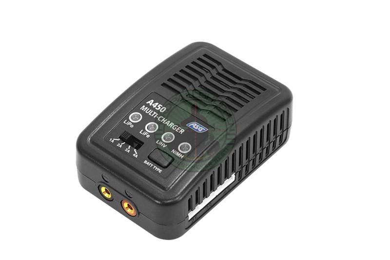 ASG - Lader A450, LiPo/LiFe/LiHV/NiMH/