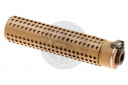 Pirate Arms - Lyddæmper, KAC QD, 168mm, CCW, Tan..