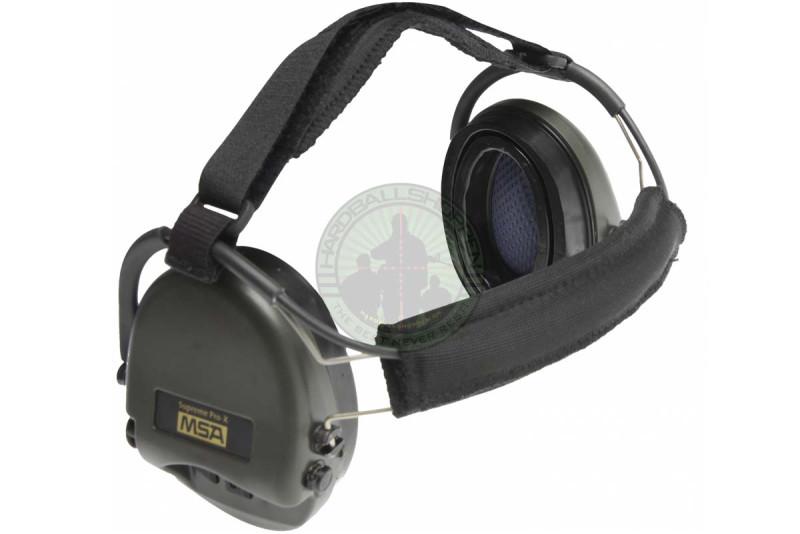 Sordin - Elektronisk MSA høreværn Supreme Pro-X Gel m/Neckband