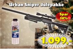 ASG - Urban Sniper JulePakke..