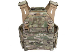 Low Profile Carrier With Solid Large Sides, Multicam..