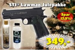 ASG - STI® Lawman, Sort JulePakke..