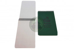 Modestone - Waterproof Notebook A33 - (lårlomme), Oliven..