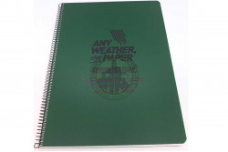 Modestone - Waterproof Notebook C43 (A4), Oliven..