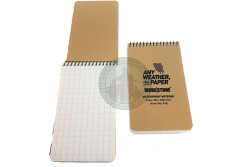 Modestone - Waterproof Notebook A12 - (brystlomme), Tan..