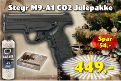 ASG Steyr M9-A1 CO2 JulePakke..