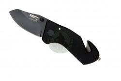 FOSCO - Kort lommekniv med seleskærer..