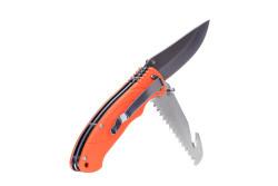 Bushcraft kniv, Orange..