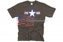T-Shirt, m. US Air Force logo..