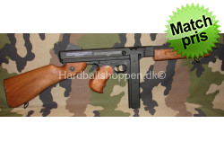 CyberGun - Thompson M1A1 m. batteri og lader..