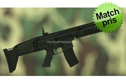 CyberGun - FN SCAR-L, med batteri og oplader, Sort..