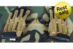 HBS Handske med knogler, Tan..