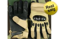 HardBallShoppen  - Handske, med knoer, Tan..