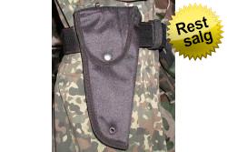 Pistolhylster sort nylon m/c..