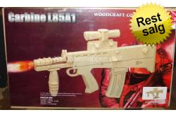 Træ puslespil Carbine L85A..