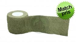 Sløringstape aftagelig Grøn mindst 2,5m..