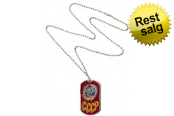 Dog Tag, CCCP Rød..