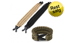 PARACORD armbånd 9 inch Dese..