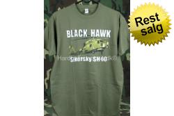 T-Shirt Black Hawk Sikorsky...
