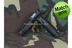 CyberGun - Vertical Grip til lygte(25,4mm) m. on/off..