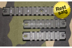 RAIL skinne  15,5 cm. og 2 s..
