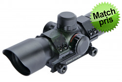 ASG Dot sigte, Ø30mm, rød/grøn, inkl montage..
