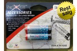 1,5v Lithium batterier 2-pac..