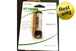 NexTORCH - NT18650a genopl. bat., til MyTorch 18650..
