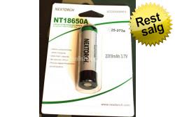 NT18650a genopl. bat., til M..