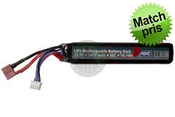 ASG - Batteri 11,1v 1450mAh 30C LiPo, Dean (T-Plug)..